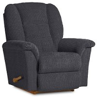 10-709C115585RCL Navy Blue Manual Rocker Recliner - Jasper