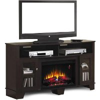 59 Inch Twin Star Fireplace TV Stand - Lasalle