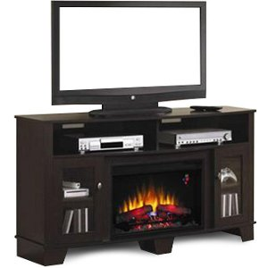 living room with electric fireplace and tv. 59 Inch Twin Star Fireplace TV Stand - Lasalle Living Room With Electric And Tv H