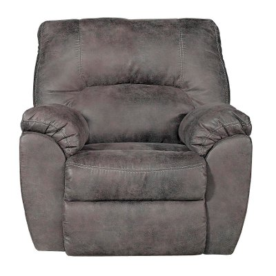 Pewter Gray Rocker Recliner - Mcneil  sc 1 st  RC Willey & Pewter Gray Rocker Recliner - Mcneil | RC Willey Furniture Store islam-shia.org