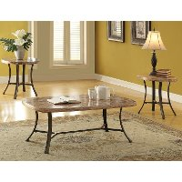 Acme Furniture 3 Piece Coffee Table Set