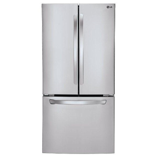 Attirant ... LFC24770ST LG French Door Refrigerator   33 Inch Stainless Steel