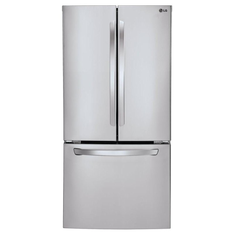 Lg Wide Bottom Freezer French Door Refrigerator 33 Inch Stainless