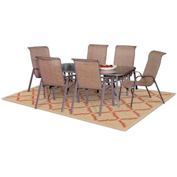 7 Piece Patio Dining Set   Mayfield