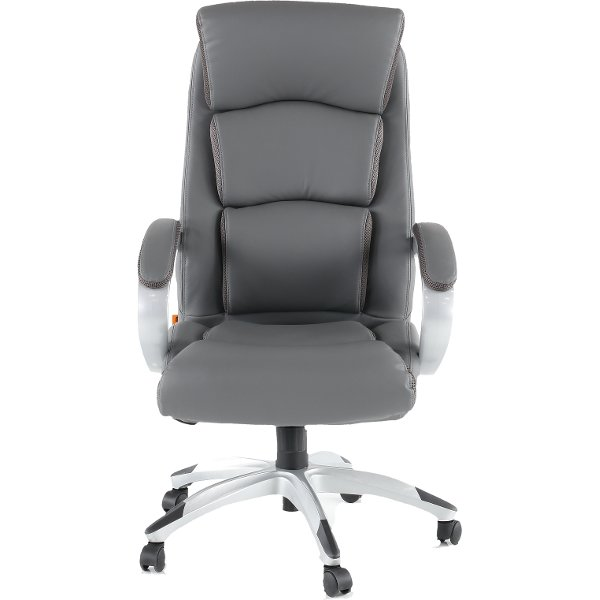 ... Gray LeatherPlus Executive Office Chair