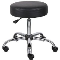 Black Drafting Office Chair
