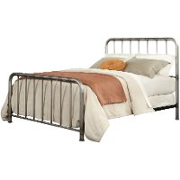 Tristen King Metal Bed