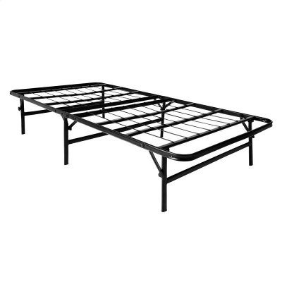Twin-XL Foldable Mobile Bed Frame