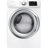 DV42H5200GW Samsung Gas Steam Dryer - 7.5 Cu. Ft. White