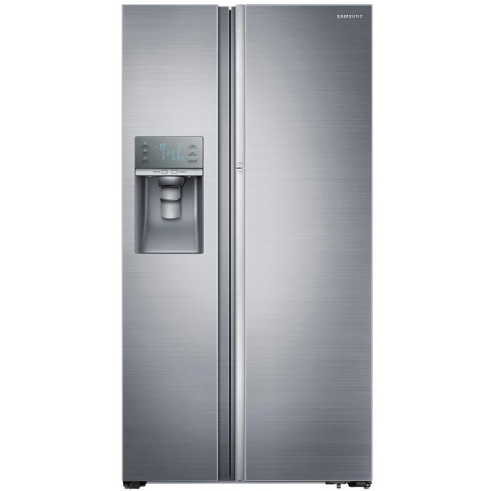 Samsung Side By Side Refrigerator 36 Inch Stainless Steel Rc