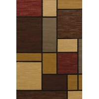 8 x 11 Large Brown Area Rug - Affinity