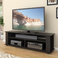 Black Simple 60 Inch TV Stand - Bakersfield