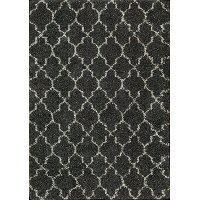 5 x 7 Medium Charcoal Gray Area Rug - Amore