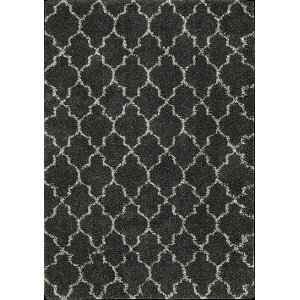 ... 8 X 11 Large Charcoal Gray Area Rug   Amore