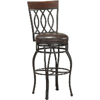 Pepper/Bourbon Counter Height Stool - Bella