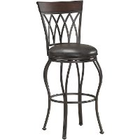 Palermo Pepper Tabacco Barstool Rc Willey Furniture Store