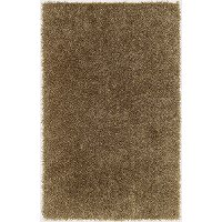 5 x 8 Medium Contemporary Stone Brown Shag Rug - Belize