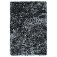 8 x 10 Large Gray Shag Rug - Posh