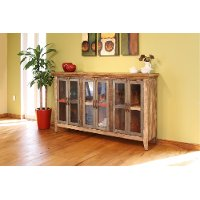Natural Pine Console