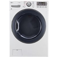 DLEX3570W LG Electric Steam Dryer - 7.4 cu. ft.  White