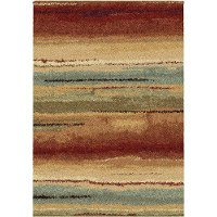 5 x 8 Medium Rust Area Rug - Metropolitan