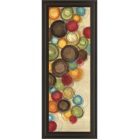 Multi Color Wednesday Whimsy II Framed Wall Art