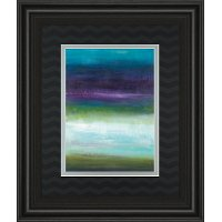 Midnight Mulberry Multi Color Framed Wall Art