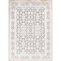 FABLESFB08-FABLES2 5 x 8 Medium Transitional Gray Area Rug - Fables