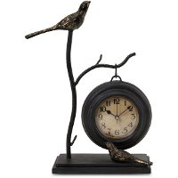 Bird & Branch Hanging Clock