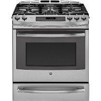 PGS920SEFSS GE Profile Series 5.6 cu. ft. Gas Convection Slide-in Range - Stainless Steel