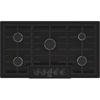 NGM8665UC Bosch 36 Inch Gas Cooktop - Black
