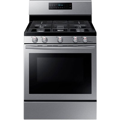 NX58H5600SS Samsung Gas Range - 5.8 cu. ft. Stainless Steel