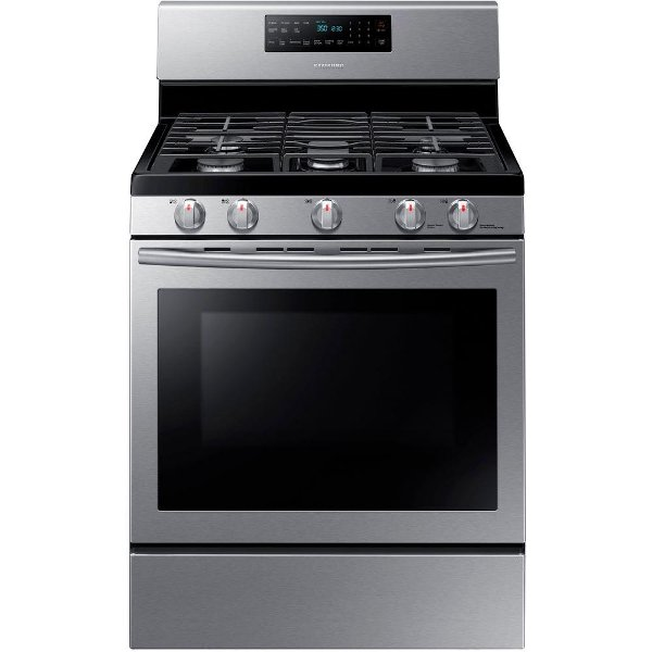 d9ae83c9a38 ... NX58H5600SS Samsung Gas Range with 5th Oval Burner - 5.8 cu. ft.