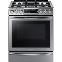 NX58H9500WS Samsung Gas Range with Flexibile Cooktop - 5.8 cu. ft. Stainless Steel