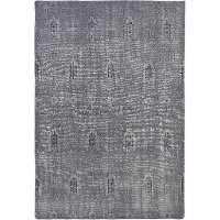 4 x 6 Small Vintage Gray Area Rug - Restoration