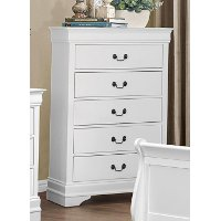 Mayville White Chest of Drawers