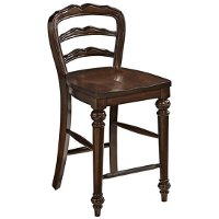 Cherry 24 Inch Counter Height Stool - Colonial Classic