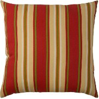 Red Sangria Indoor/Outdoor Throw Pillow
