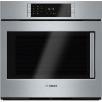 HBLP451LUC Bosch 30 Inch Convection Single Wall Oven with Right-Side Handle - 4.6 cu. ft. Stainless Steel