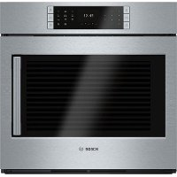 HBLP451RUC Bosch 30 Inch Convection Single Wall Oven with Left-Side Handle - 4.6 cu. ft. Stainless Steel