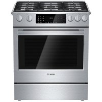 HDI8054U Bosch Dual Fuel Range -  4.6 cu. ft. Stainless Steel