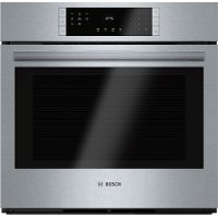 HBL8451UC Bosch 30 Inch Convection Single Wall Oven - 4.6 cu. ft. Stainless Steel