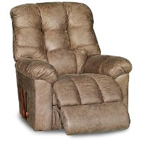 10-563D126768RECL Marble Brown Reclina-Rocker Manual Recliner - Gibson