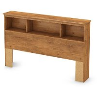 3432093 County Pine Full Size Bookcase/ Headboard (54 Inch) - Little Treasure