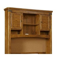 Clearance Rustic Pine Desk Hutch - Bryce Canyon