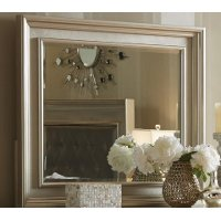 Traditional Champagne Mirror - Diva