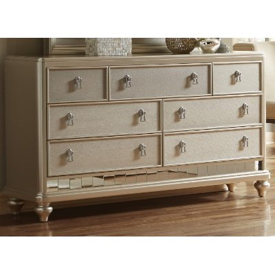 Traditional Champagne Dresser - Diva
