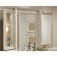 Traditional Champagne Tri-View Vanity Mirror - Diva