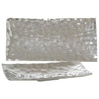 20 Inch Aluminum Rectangle Tray