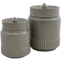 10 Inch Breckin Gray Canister